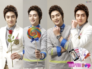 kim joon anycall 4 poses