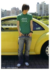 vic with car